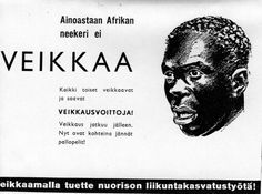 "This was an by Veikkaus ( Finnish gambling company). The ad says "" Only African N** doesn't gamle"" Retro Ads, Vintage Ads, Map Pictures, Illustrations And Posters, Historian, Trending Memes, Finland, Funny Jokes, Nostalgia"