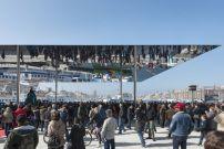 Pavillon von Foster in Marseille eingeweiht / Verspiegelter Hafen - Architektur und Architekten - News / Meldungen / Nachrichten - BauNetz.de