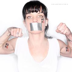 NO H8 Campaign - Pauley Perrette