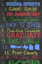 FREE Back to School Fonts and Graphics { lilluna