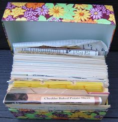 Check out Vintage SYNDICATE MANUFACTURING METAL RECIPE BOX with RECIPES 1960s FLOWERS  http://www.ebay.com/itm/Vintage-SYNDICATE-MANUFACTURING-METAL-RECIPE-BOX-RECIPES-1960s-FLOWERS-/160816515122?roken=cUgayN&soutkn=nkbwhl via @eBay