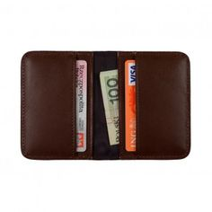 Leather Wallet: Mini Wallet