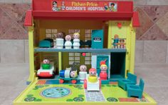 Vintage Fisher-Price Little People Play Family by JamaicaInn
