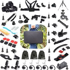 5. EEEKit 56-All-in-1 Professinal Accsessories Kit for Gopro