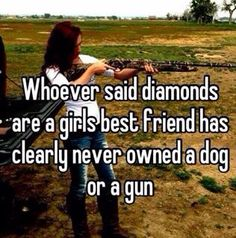 Country girls and guns