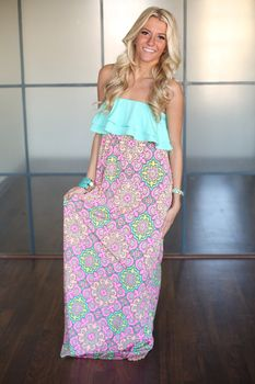 Judith March Call Me Princess Maxi - Modern Vintage Boutique