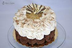 Tort cu crema caramel si crema de ciocolata cu cafea — Alina's Cuisine Creme Caramel, Something Sweet, Ice Cream, Desserts, Whisky, Food, Backyard, Pies, No Churn Ice Cream
