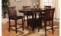Lavon Transitional Counter-Height Stools Set of Two - Counter Stools - Ideas of Counter Stools Dining Room Furniture Sets, Dining Chairs, Dining Table, Kitchen Dining, Casual Dining Rooms, Counter Height Dining Sets, Table And Chair Sets, Counter Stools, Coaster