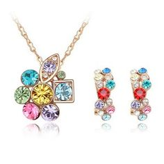 Austrian Crystal Set - Secret Garden ( Color ) 4583