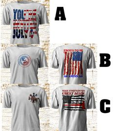 Unusual 4th of July Independence Day Celebration Firefighter America T SHirt  #Gildan #GraphicTee