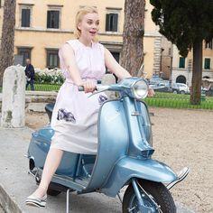 free dress pattern - Rosa Baumwollkleid (19/6)