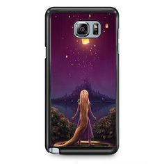 Rapunzel Watching Floating Light TATUM-9163 Samsung Phonecase Cover Samsung Galaxy Note 2 Note 3 Note 4 Note 5 Note Edge
