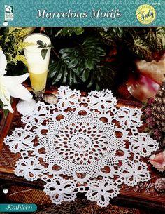 Kathleen Doily, Marvelous Motifs crochet pattern | Artesanías, Artesanías con agujas e hilos, Tejido a croché y con agujas | eBay!