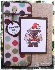 Bailey Christmas digi by Hambo Stamps - Designed by Lyn Tomlin
