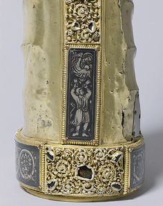 Detail                                      ca. 1230 Made in Meuse Valley,South Netherlands Silver and silver gilt over Wood core,niello and gems Metropolitan Museum                        ...