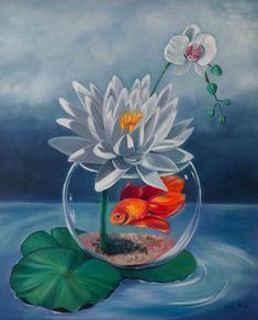 """""""Fish Out Of water Buy Art Online, Australian Artists, Animal Paintings, Artist Art, Online Art Gallery, Great Artists, Still Life, Collaboration, Oil On Canvas"""