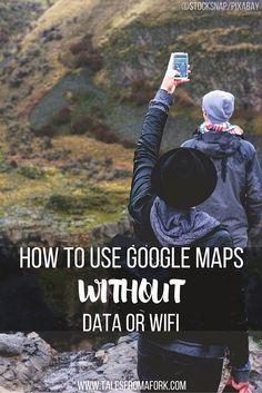 Apprenez à utiliser Google Maps hors ligne sans données ou wifi. Économisez de l'argent sur les données et le temps de se perdre! Cliquez sur le lien pour savoir comment.