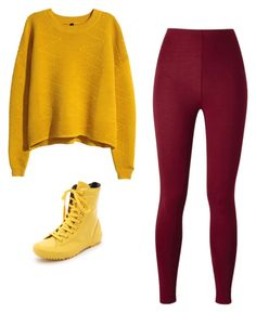 """Bez tytułu #203"" by julia-wolna on Polyvore featuring moda, H&M i Converse"
