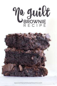 No Guilt Brownie Recipe