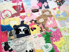 Memory Quilt / First Year Quilt / 1st Year Blanket / by 22HANDS