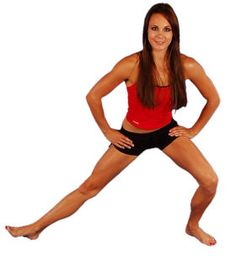 Do you have a groin injury?  This is a brilliant stretch to help that muscle heal.  Click on the picture for more stretches and a few exercises for strengthening that area.
