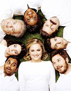 The Parks and Recreation cast for Entertainment Weekly