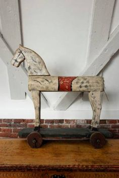 19th century Dutch toy horse