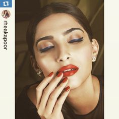 Sonam Kapoor in the mood to hot it up at #Cannes2015. #Bollywood #Fashion #Style #Beauty #Instagram