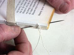 bookbinding: sewing books