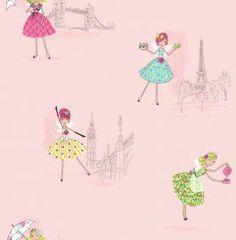 Dutch Hoopla DL30712 Vintage Fairies