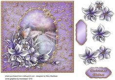 Lilac and Gold Christmas