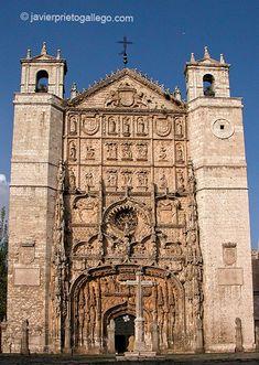 Fachada de la iglesia de San Pablo. Valladolid. Castilla y León. España. © Javier Prieto Gallego;