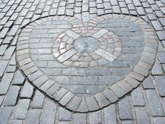 """The """"Heart of Midlothian"""", on the Royal Mile in Edinburgh, marks the location where the infamous Tolbooth once stood. Photo by Jonathan J Mackintosh, via Flickr"""