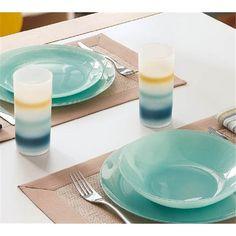 Тарелка десертная круглая Luminarc Arty Soft Blue 20,5см L1123 на сайте vdoma.com.ua