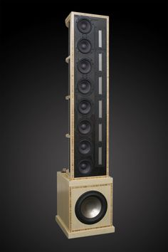 Line Arrays — Selah Audio - Bruno St - - Pierrel Bunn - Open Baffle Speakers, Pro Audio Speakers, Audiophile Speakers, Hifi Audio, Wooden Speakers, Equipment For Sale, Audio Equipment, Speaker Box Design, Audio Design