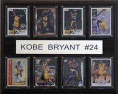 "NBA Kobe Bryant Los Angeles Lakers 8 Card Plaque by C&I Collectables. NBA Kobe Bryant Los Angeles Lakers 8 Card Plaque. 12""x15""."