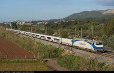 RailPictures.Net Photo: 252.070 Renfe Siemens/Krauss Maffei Eurosprinter at Gavà (Barcelona), Spain by Lucas Garcia Deiros