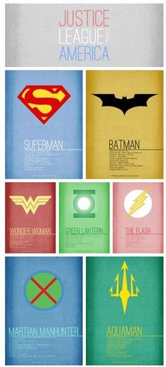 7 Superheroes from the Justice League of America - 8 Bit Nerds shares the best funny pics, video games, sci-fi, fantasy, comic, and cosplay pics on the web!