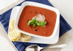 Tomato Soup and Mini Grilled Cheese Dippers | Van's Natural Foods