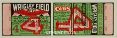6 1929-32-35 WORLD SERIES VINTAGE UNUSED FULL TICKETS CHICAGO CUBS reprints World Series Tickets, Football Ticket, Baseball Tickets, Cubs Cardinals, Cleveland Indians Game, Knute Rockne, Cubs Win, Ticket Design