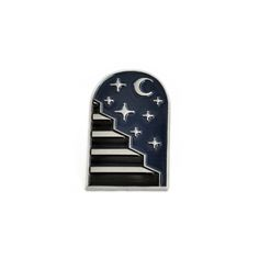 Image of ANYWHERE BUT HERE Lapel Pin