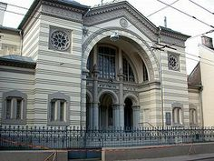 Choral Synagogue of Vilnius, the only synagogue in the city to survive the Nazi Holocaust.