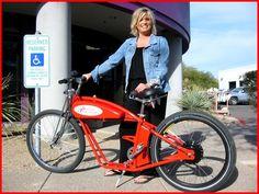 A Phoenix Bike Works AEERO All-Electric Bike