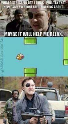 Flappy Birds! Stressful game!
