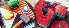 Save the Day With 25 Superhero Birthday Cakes!