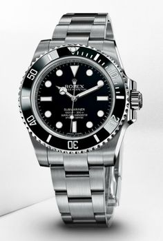 Rolex Submariner No-Date, 40mm, Stainless Steel, Black dial, Oyster Bracelet, 114060