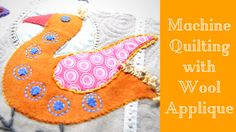 Machine quilting a Wool Applique quilt was my biggest fear! Watch as I finish the quilt and deal with the problems that arise!