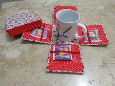 caixa de chá (aberta)