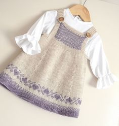 Thanks wiemodemakeup for this post.Luv U Forever Pinafore Dress - Knitting pattern by OGE Knitwear Designs.Luv U Forever Pinafore Dress - Knitting pattern by OGE Knitwear Designs, Baby Knitting Patterns, Knitting For Kids, Baby Patterns, Free Knitting, Dress Patterns, Knitting Charts, Shawl Patterns, Knitting Ideas, Clothing Patterns
