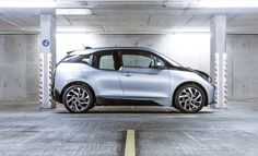 Driving the BMW i3 electric car
